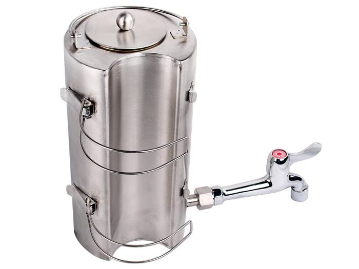 Stainless Steel Outdoor Water Kettle For Wood Military