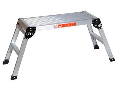 20 Inch High Aluminum Platform Folding Work Bench Drywell