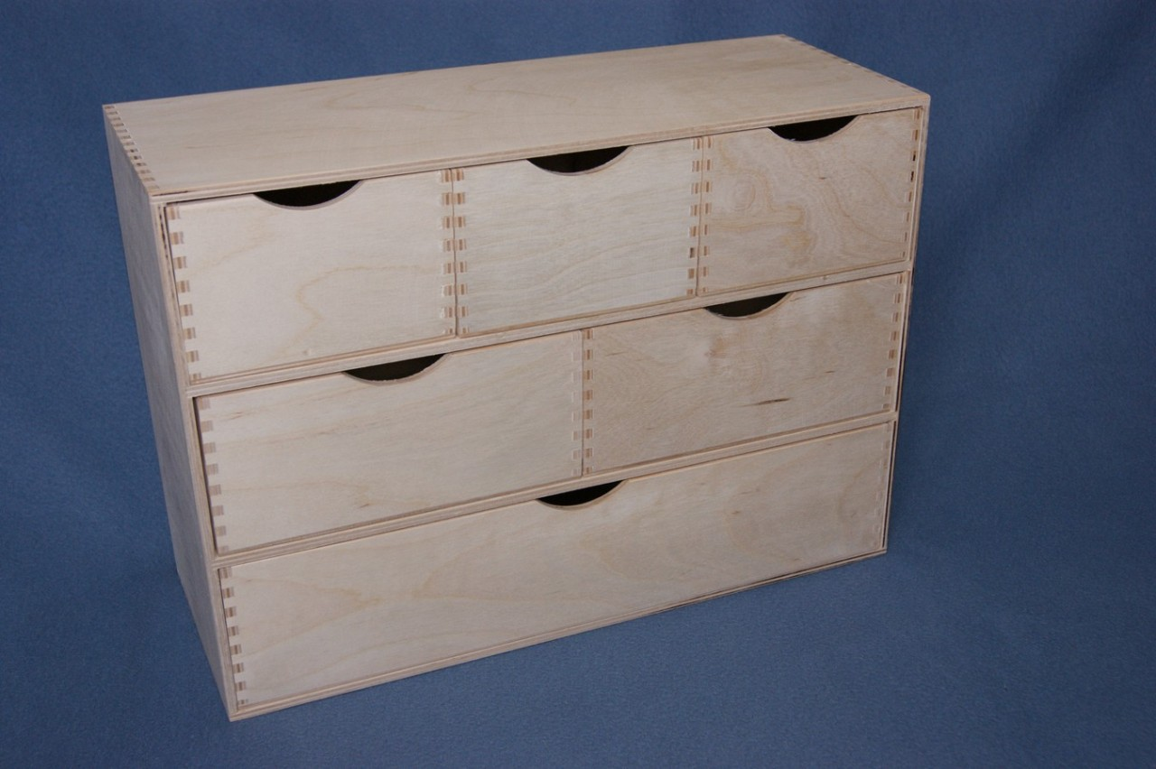 Details About Plain Wooden Storage Cupboard Chest Drawers Office Desk Table Organiser 321