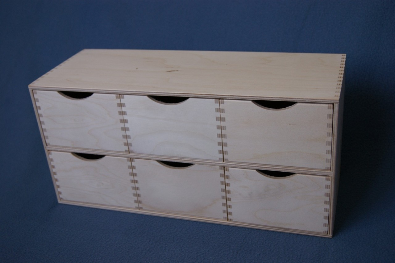33 Plain Wood Wooden Box Storage Cupboard Chest Drawers