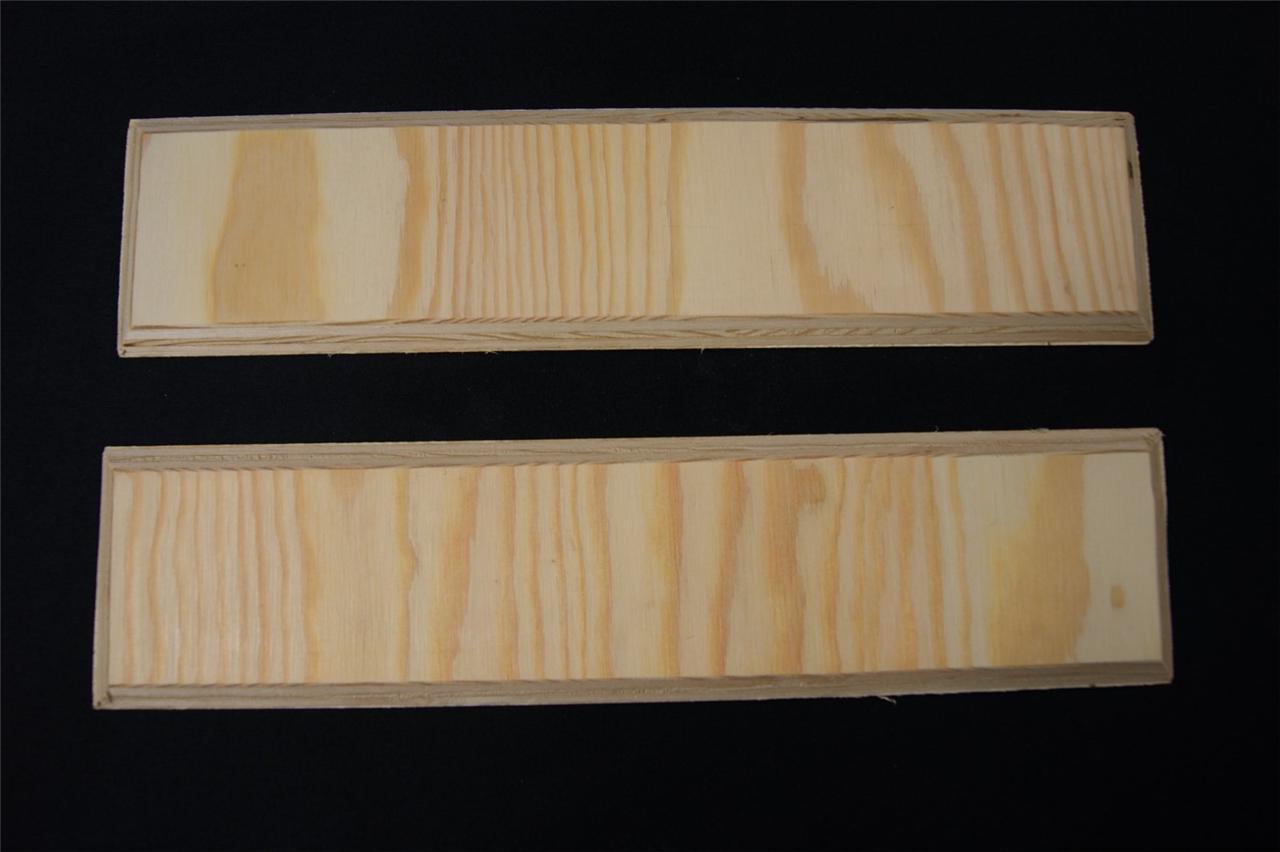 2 X Plain Wooden Plaque Door Plaque Sign Blank Plaque Home