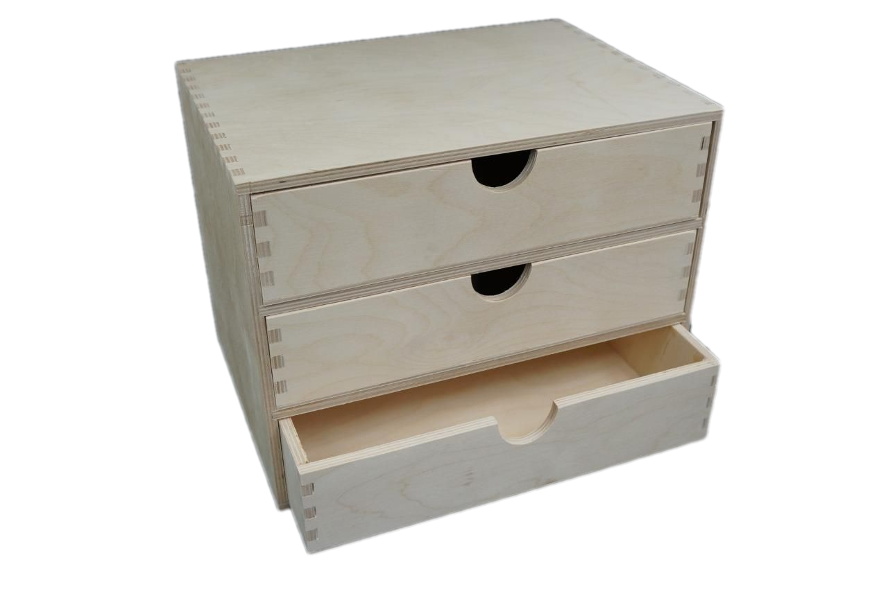 Details about A48 Plain Wooden Cupboard Chest Shelf With Drawers Storage  Desktop Unit D483