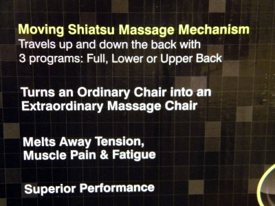 Homedics SBM 200 Shiatsu Massage Cushion Back Massager
