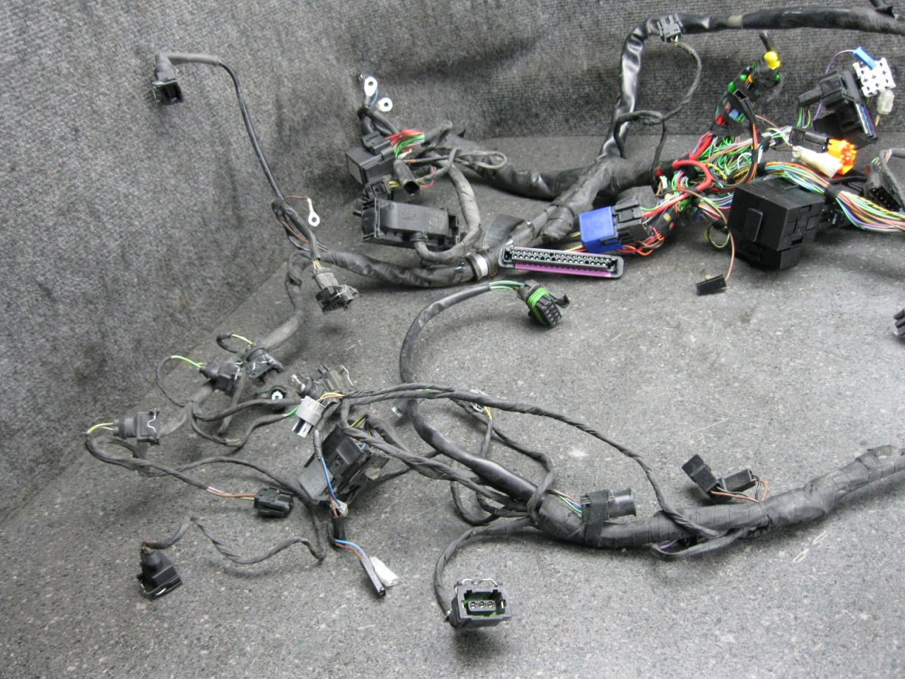 04 Bmw K1200gt K1200 Gt Wiring Wire Harness Loom 69f