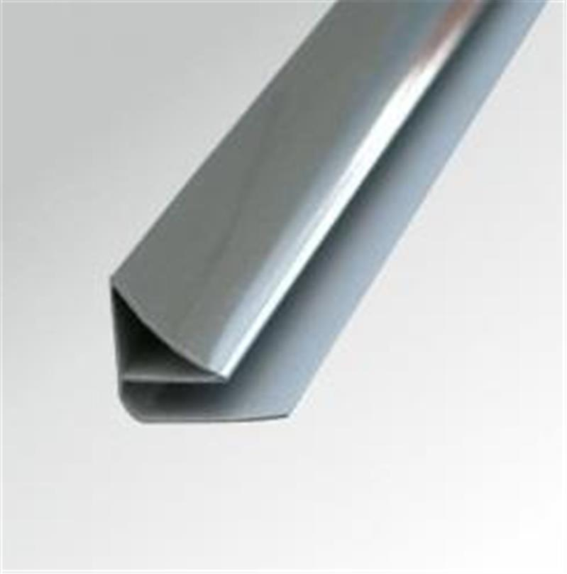 Pvc Wall Molding : Mm chrome pvc coving ceiling trim for shower wall panels