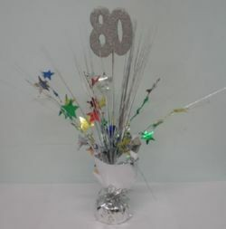80th Birthday TABLE DECORATION PARTY CENTREPIECE 250x253 in 8.1KB & 80th Birthday Table Decorations Ideas ~ Image Inspiration of Cake ...