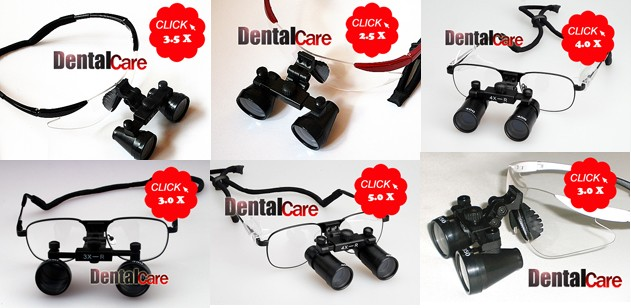 New Surgical Dental Medical 3 5x Loupes 19 Quot 500mm Red Ebay