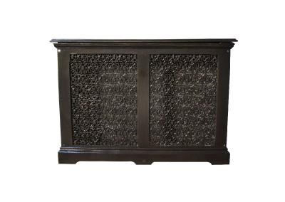 Ornate antique cast iron radiator cover - Cast iron radiator covers ...