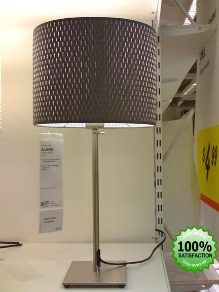 Ikea Alang Gray Or White Modern Table Desk Lamp Light Ebay