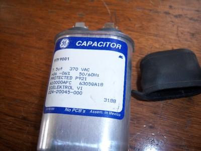 Ge 97f9001 7 5uf 370 Vac Motor Run Capacitor Used Ebay