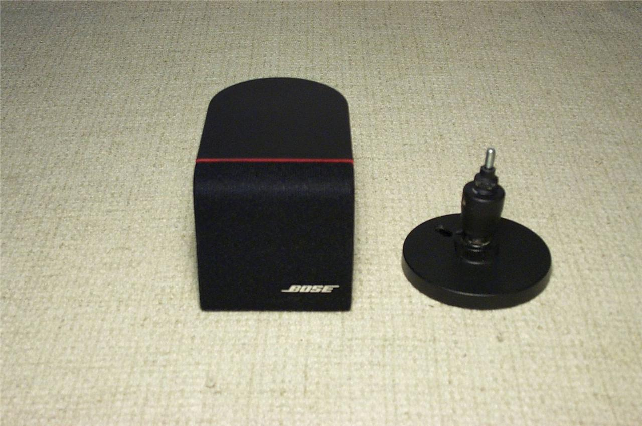 1 Bose Redline Cube Speakers Exclnt Amp Wall Mount