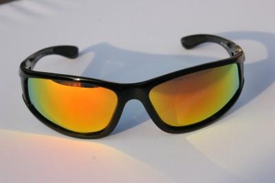Tortoise Polarized Sunglasses with Fire Mirror lens Anti-Glare Fishing Golfing
