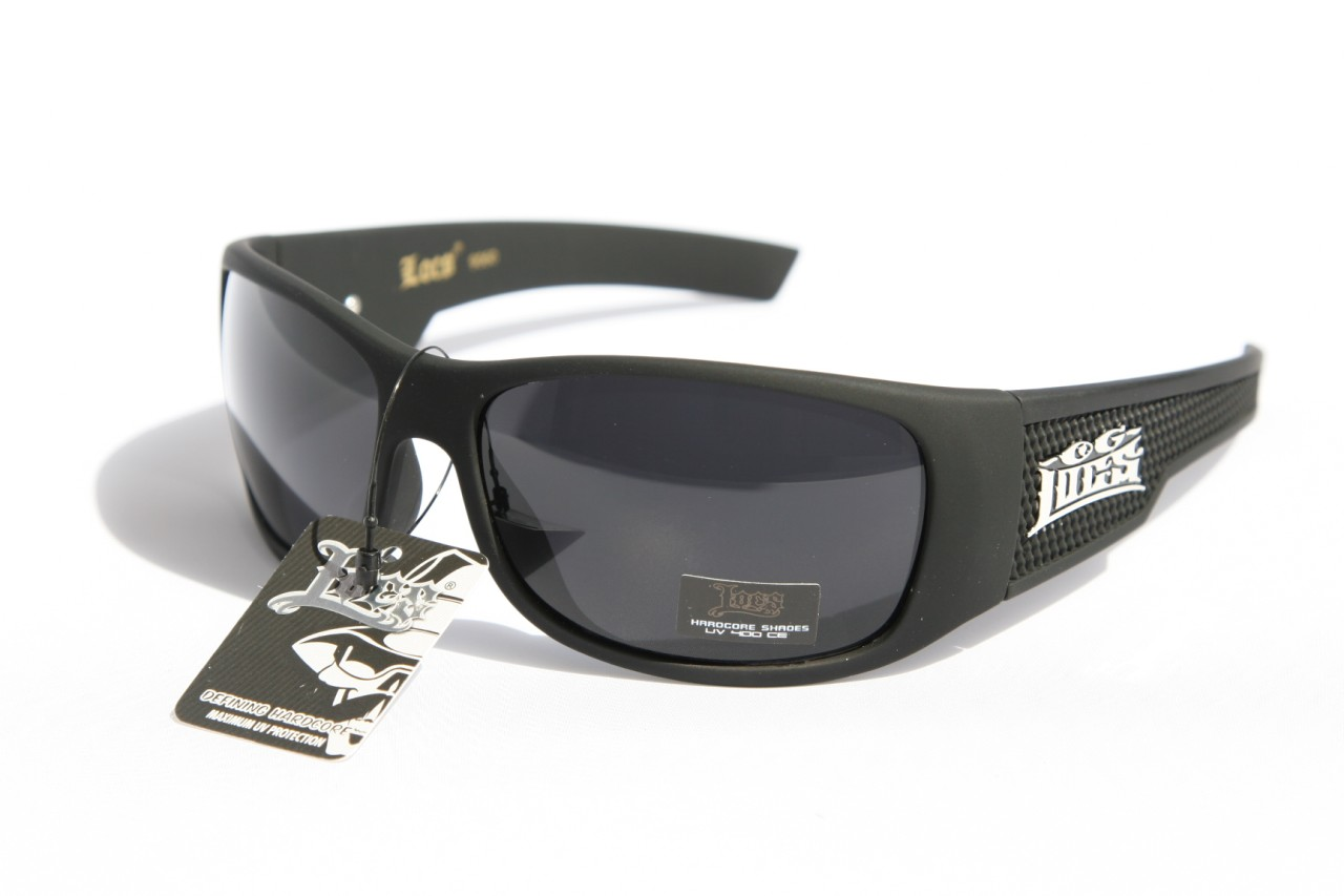 Large Men Limited Edition Locs Sunglasses Dark Lens ...