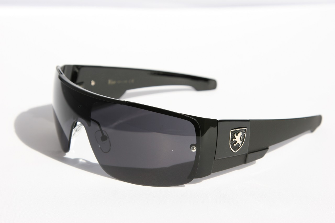 Mens oversized Sunglasses Khan eyewear SHIELD SPORTY WRAP 01b80836898b4