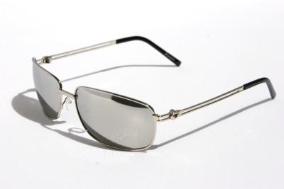 580c878b7e7 Mens Premium Rectangle Aviator Sunglasses metal frame Insignia Vegas  Rectangular