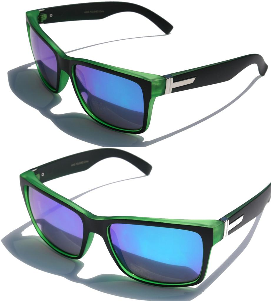 tenlon glasses wide legs camouflage caving frame colorful