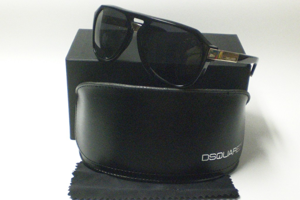 DSQUARED DQ0027 DQ 0027 BLACK 01A SUNGLASSES 27 027 on PopScreen 1a81300d61a