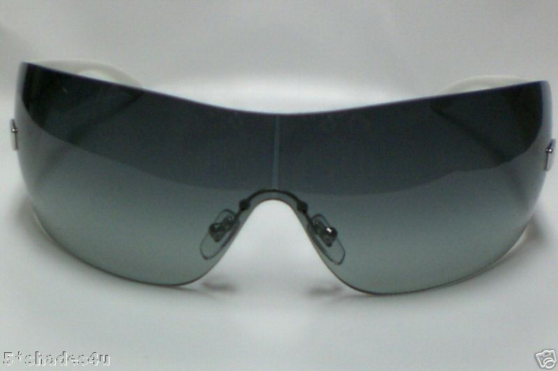 136a8c92cc6 Versace ve 2054 White 1000 8g Authentic Sunglasses on PopScreen