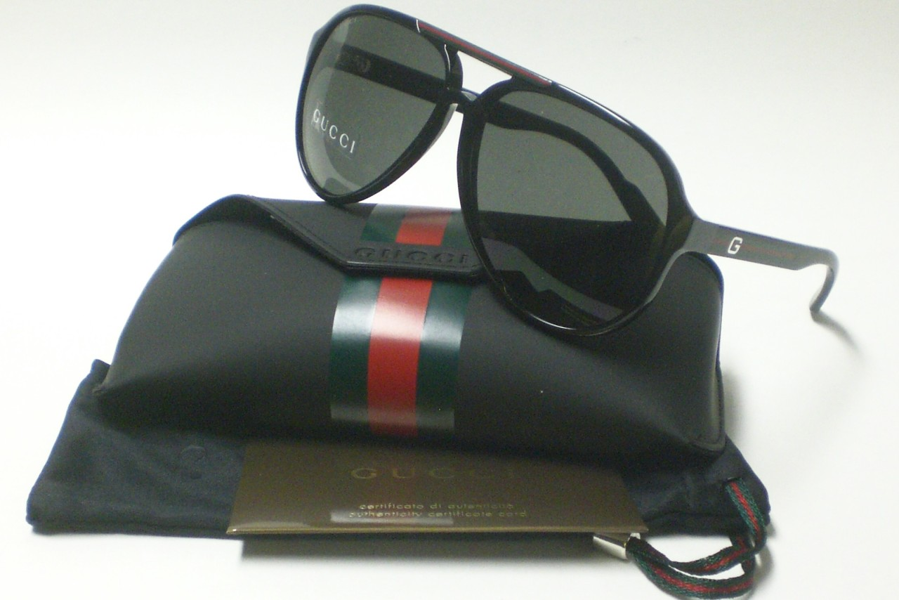 cd675ecbfe7 GUCCI GG 1627 S GG1627 SHINY BLACK D28 SUNGLASSES 1627 on PopScreen