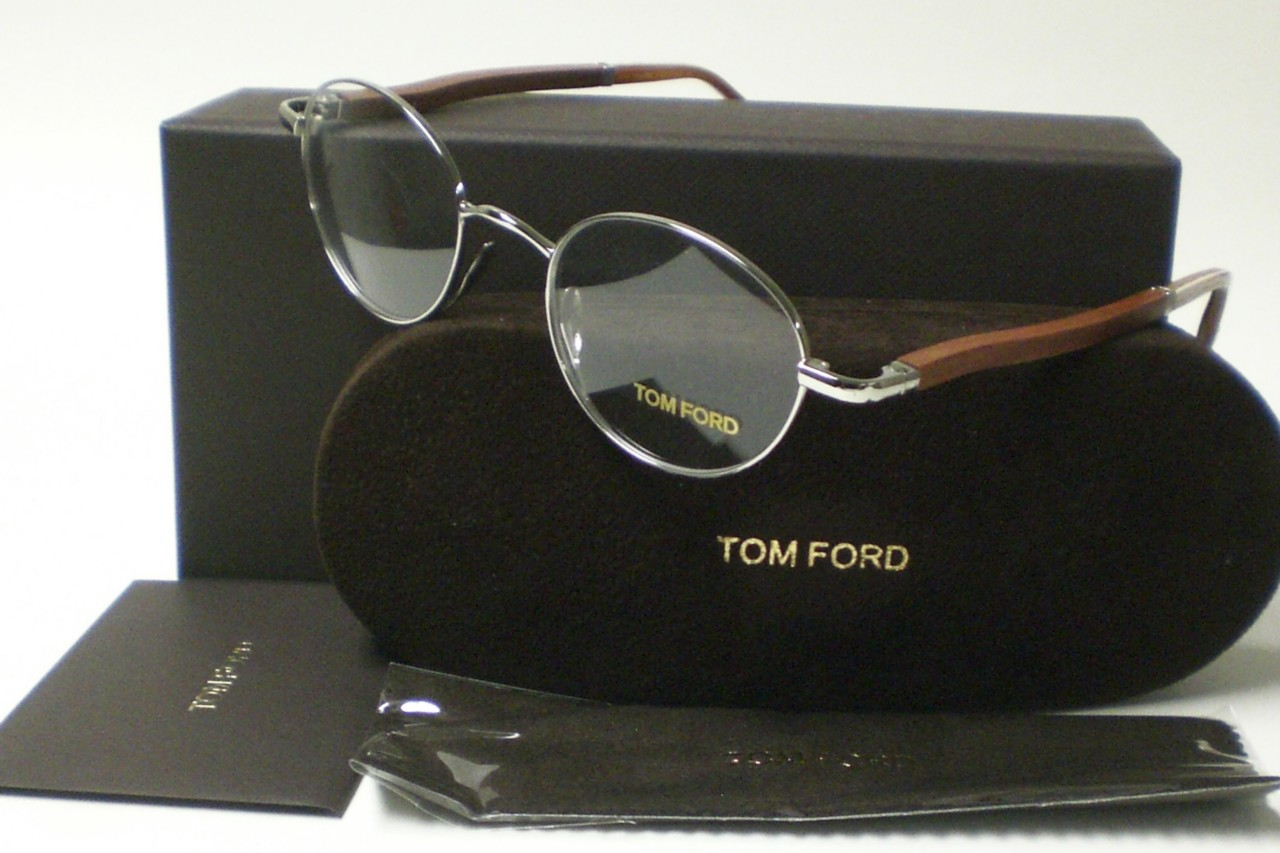a7a2b59730fd8 TOM FORD TF5156 TF 5156 SILVER 018 EYEGLASSES 47 AUTH. on PopScreen