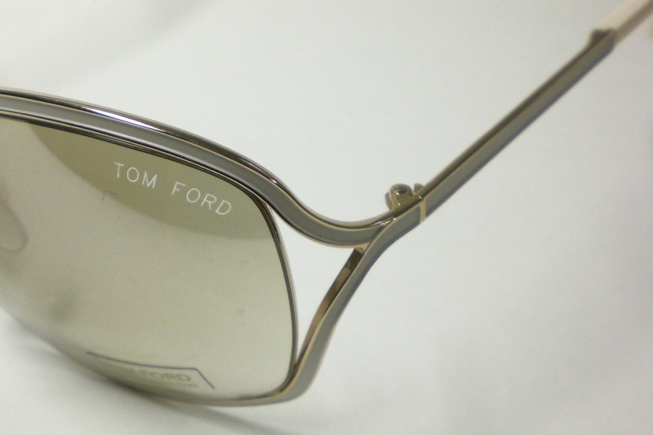 16b29d018e Tom Ford Rickie TF179 TF 179 White Gold 28g Sunglasses on PopScreen