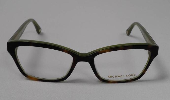 b55cb27a9f MICHAEL KORS MK 257 225 S.52 EYEGLASSES TORTOISE OLIVE RX FRAME AUTHENTIC