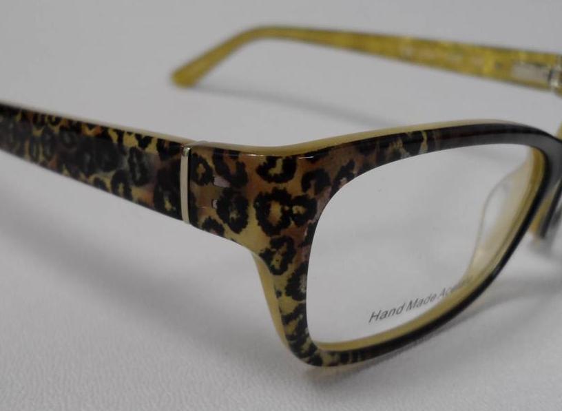 Juicy Couture 131 Juf S 52 Eyeglasses Leopard Plastic Rx