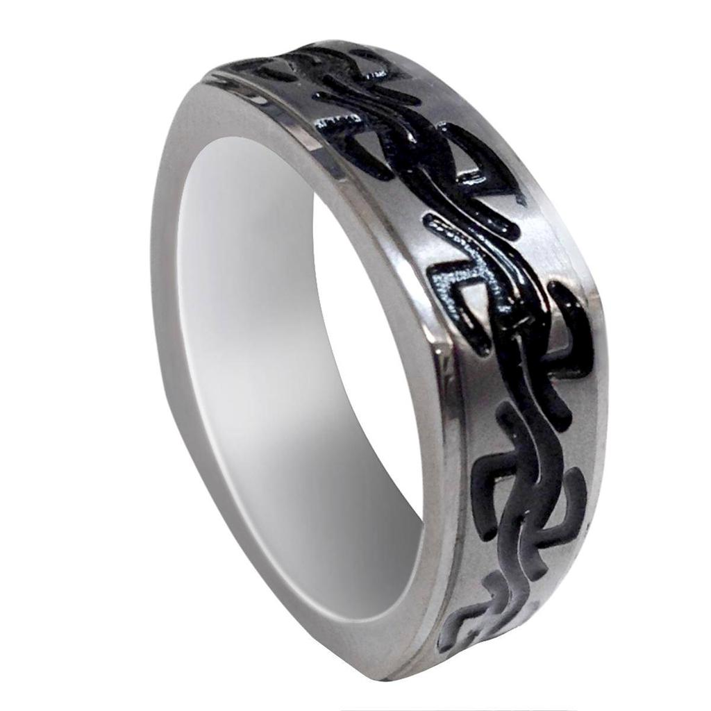 Men's Titanium Wedding Ring Classic Comfort Fit Band New
