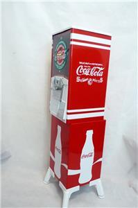 Vintage Northwestern 80 Gumball Machine Coca Cola Clock