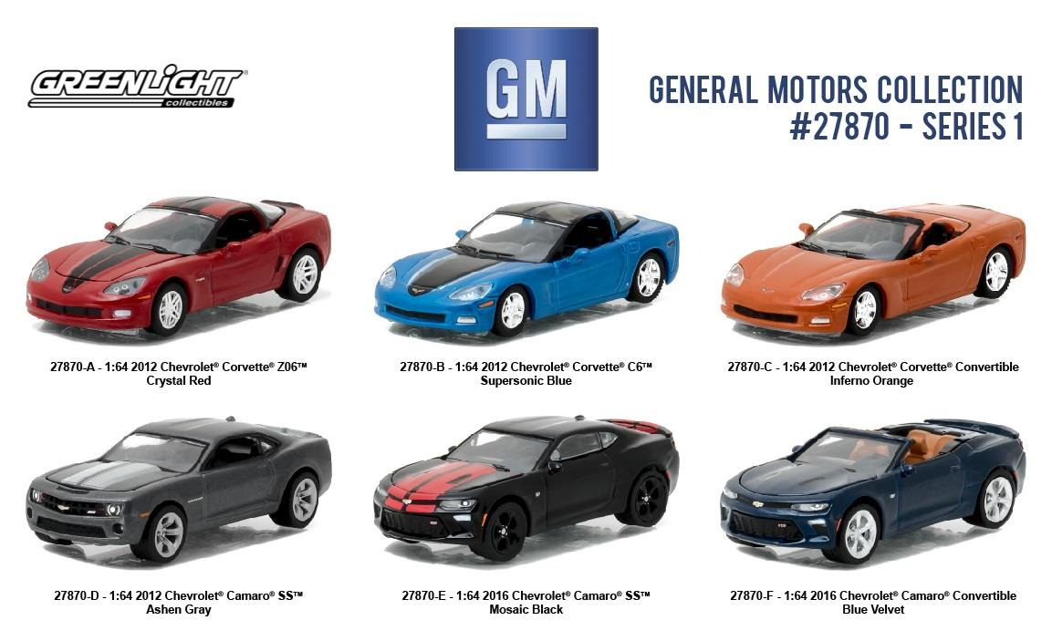 Greenlight 27870 General Motors Collection Series 1 Set Of