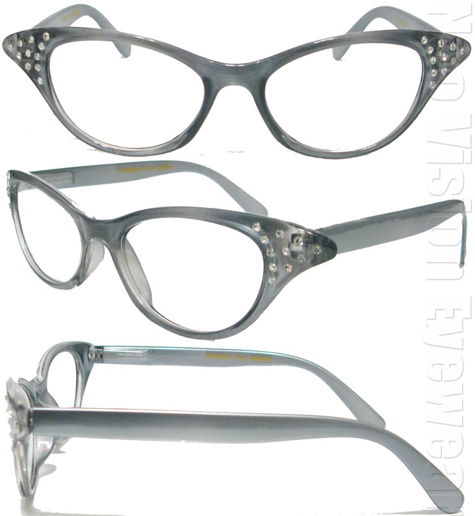 Vintage Style Reading Glasses 53