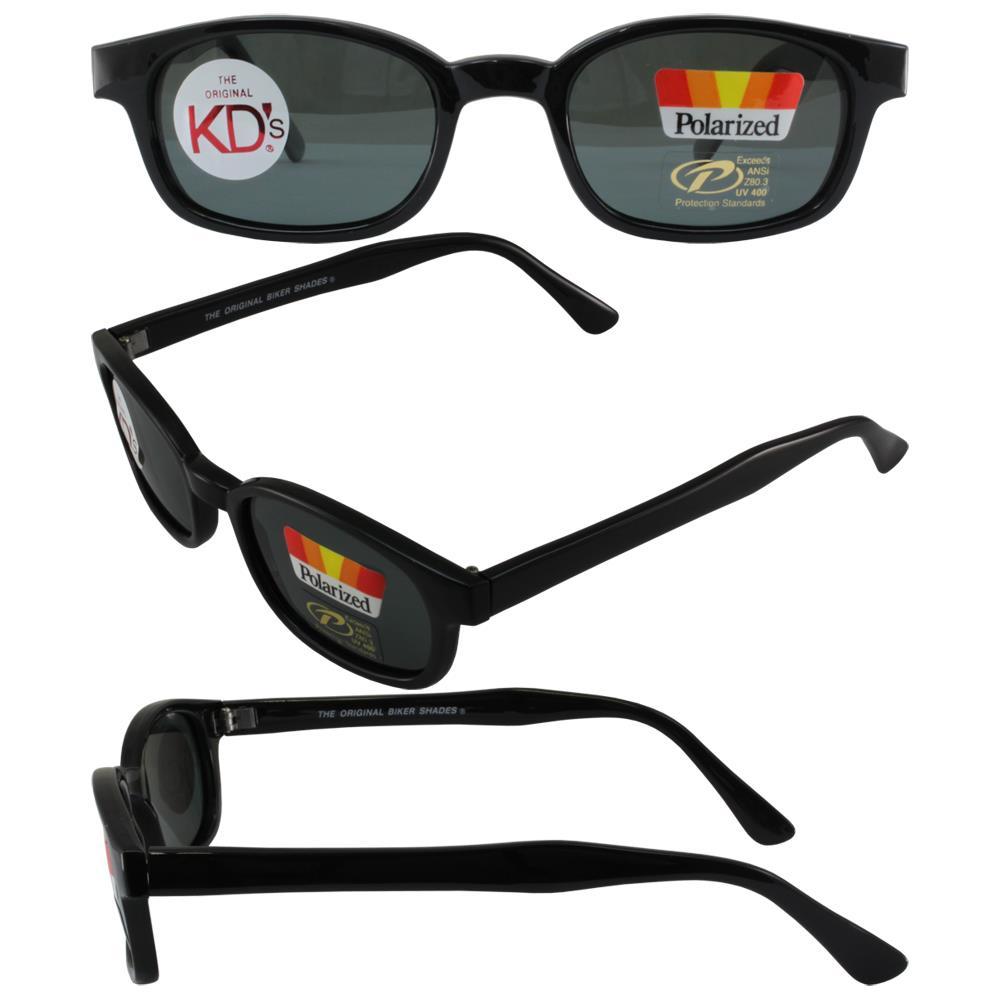5af31c510a8c Original Kd's Sunglasses 2019 Polarized Grey Lenses Biker Shades ...