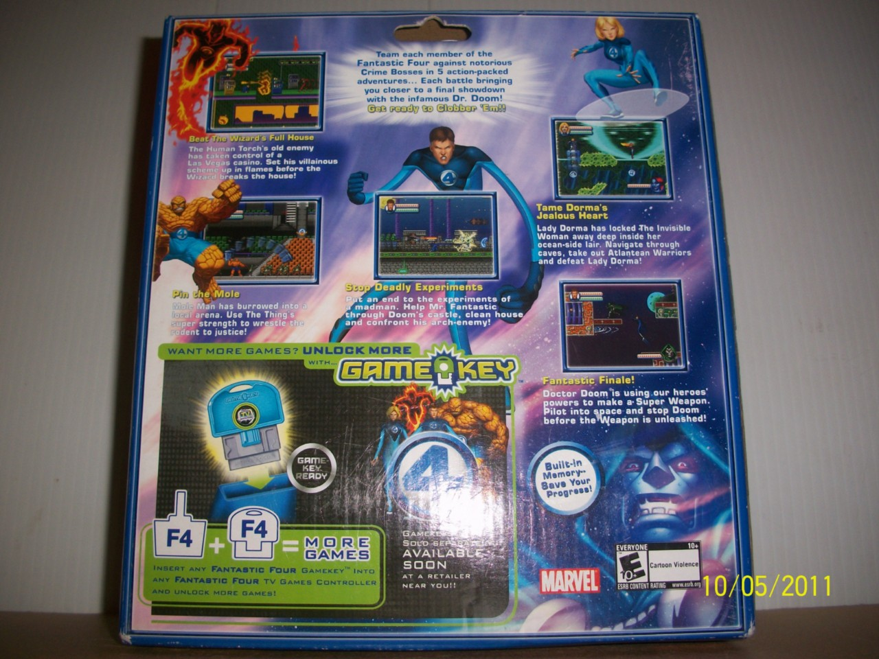 Tv Games Plug Into : Marvel jakks pacific plug play tv games fantastic four