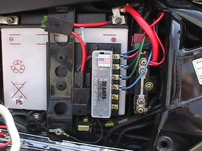 relay controlled power plate accessory panel for goldwing. Black Bedroom Furniture Sets. Home Design Ideas