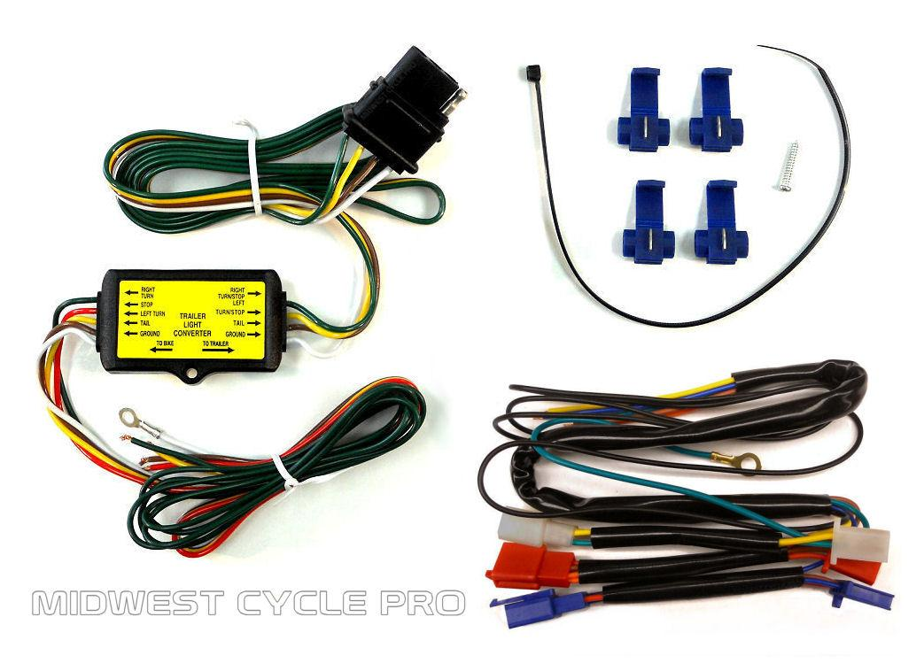 Trailer Wiring Harness Converter Gl1800 Non Abs Brakes 090 143t Adapter Kit For And 45 1848