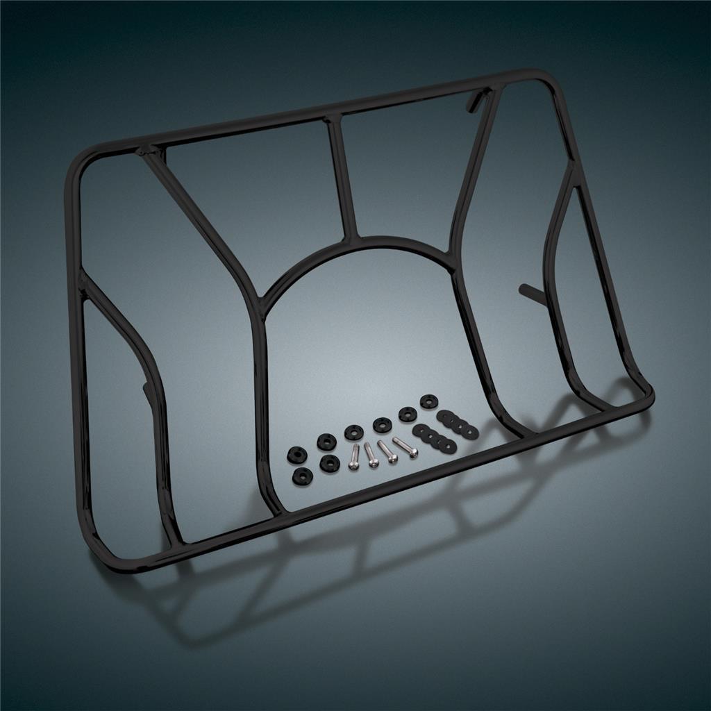 Black Tour Trunk Rack For Can Am Spyder Rt Rts Rt Ltd