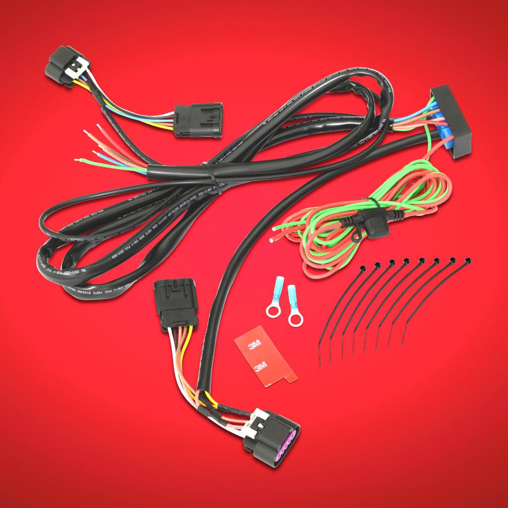 trailer wiring harness for 2016 and newer can am spyder f3 and f3t Car Wiring Diagrams trailer wiring harness for can am f3 tour and f3 limited 2016 and newer by show chrome accessories