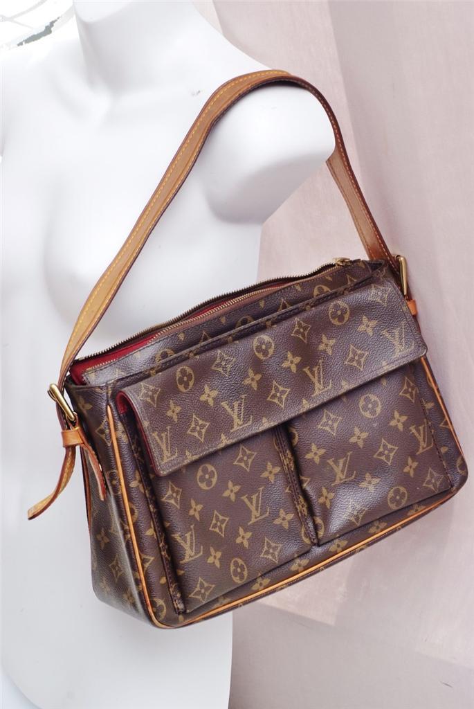 Louis Vuitton Viva Cite Gm Monogram Authentic Shoulder Bag