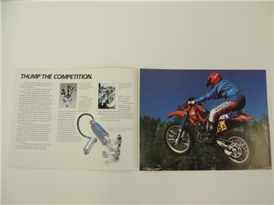 ganesh.dp.ua NOS 1985 XR250R XR250 XR200R XR200 Honda Dealer ...