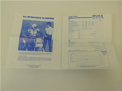 NOS 1980/'S Honda Quad ATC ATV Suzuki Kawasaki Yamaha Brochure Catalog L66