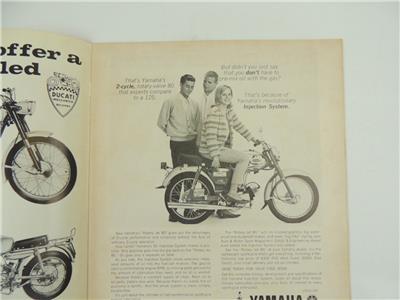 Vintage Aug 1962 AMERICAN MOTORCYCLING Magazine Dick Mann Markel Laconia L3664