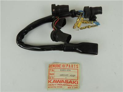 25011-026 NOS Kawasaki Indicator Socket Assembly KZ1000 KZ 900 W2598