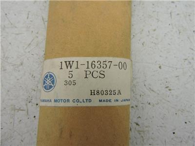 1W1-16357-00 NOS Yamaha Push Rod DT100 DT175 IT175 MX125 TY175 YZ100 YZ125 W4308