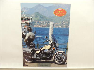 Moto Guzzi Le Mans V1000 Motorcycle Dealer Brochure Literature L10418