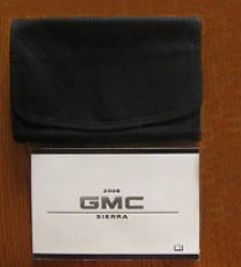 2008 08 GMC Sierra Owners Owners Manual Guide Book