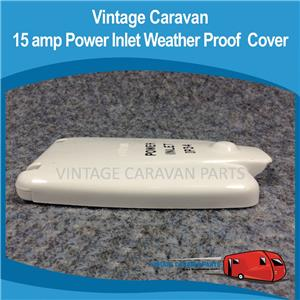 Caravan Clipsal Ip 34 Power Inlet Cover Vintage Viscount