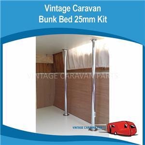 Caravan Bunk Bed Kit Chrome Tube Kit 25mm Viscount Franklin