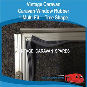 Caravan Window Rubber Multi Fit Wr018 Vintage Viscount