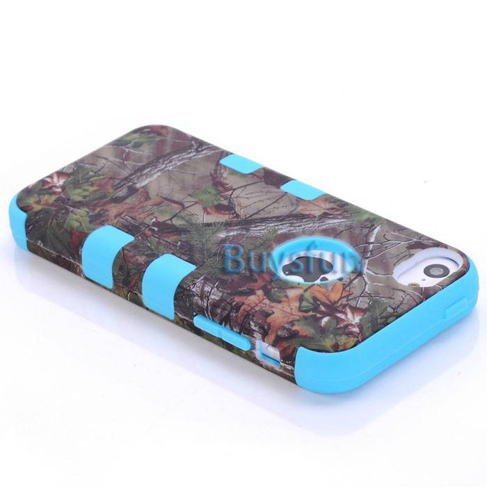 who made the iphone camo tree tough armour hybrid light blue rubber 16498