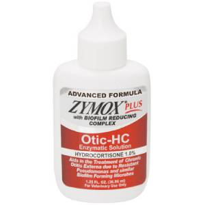 Zymox Plus Otic Hc Advanced Formula Enzymatic Solution 1